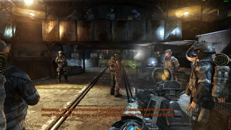 Metro Last Light - Last moments before the battle for D6