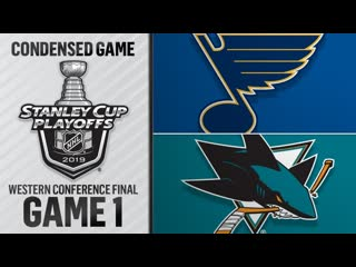 St. Louis Blues vs San Jose Sharks WCF, Gm1 may 11, 2019 HIGHLIGHTS HD