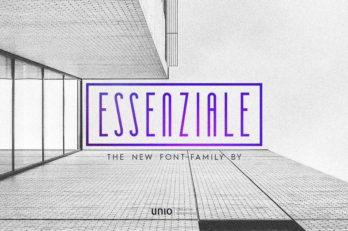 Шрифт - Essenziale