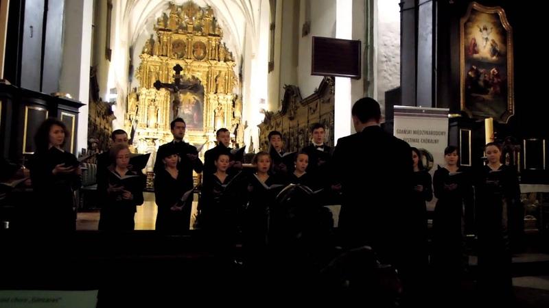 Ансамбль Altro coro Концерт из сочинений Дж. Тавенера в кафедральном соборе г. Гданьска (Польша)