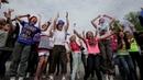 Флэшмоб по русски 2 'СИБИРСКИЙ ХОРОВОД' Russian style flash mob from Siberia