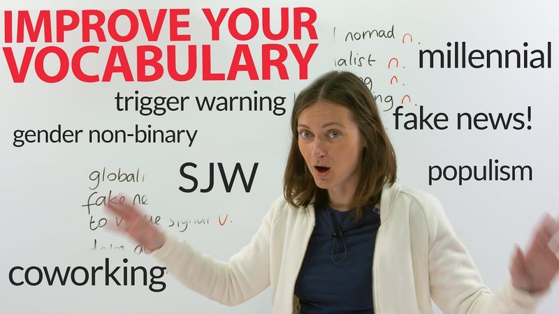 Improve your Vocabulary: Learn 16 new social, political, and internet words