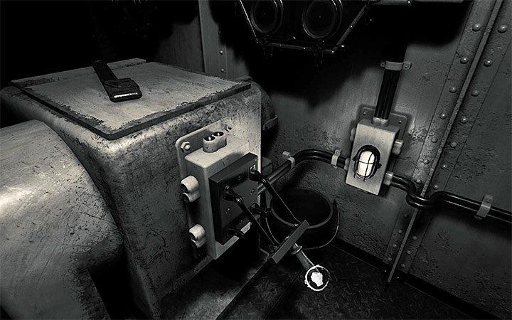 Рычаг в машинном отделении Layers of Fear 2