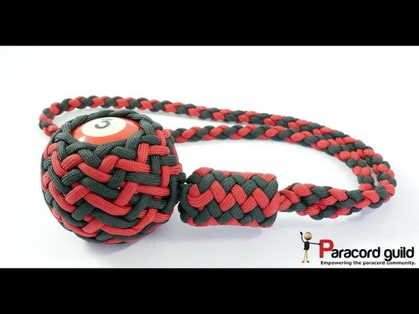 Paracord self defense lanyard fancy