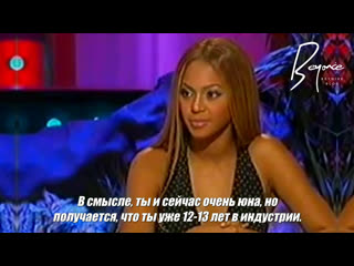 Beyoncé || Interview for Graham Norton (русские субтитры) [2003]