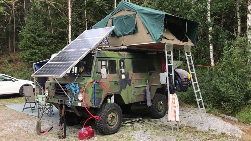 Volvo C303 TGB 11 Camper Overland vehicle Hillbilly Hunting vehicle