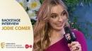 Jodie Comer Reacts Backstage After BAFTA Win | BAFTA TV Awards 2019