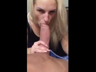 Greedy blonde mature slut