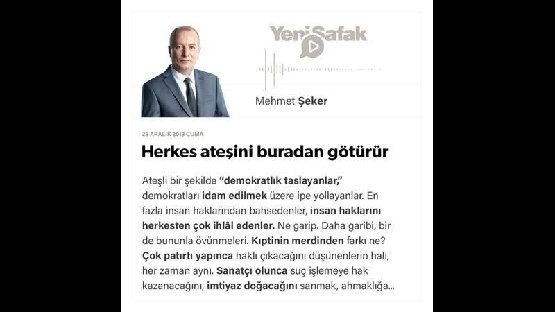 Mehmet Şeker - Herkes ateşini buradan götürür - 28.12.2018