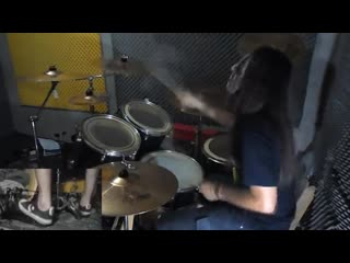 Slipknot - Surfacing Drum Cover With Joey Jordison Mask drum play-through by Jor
