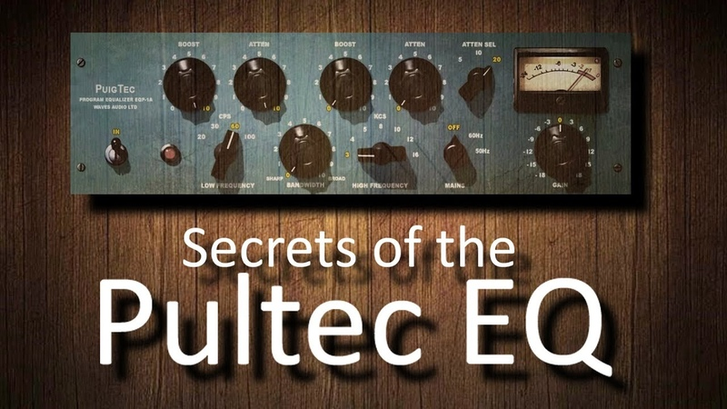 Secrets Magic of the Pultec EQ (Q-Clone analysis, no sound)