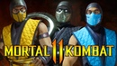 MK11 NEW CLASSIC SKINS NINJA SHOWDOWN Subzero vs Scorpion vs Noob