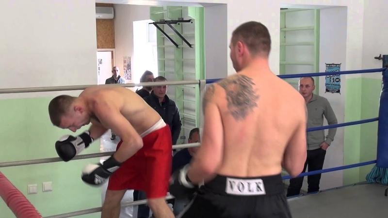 Andrejs Tolstihs (Latvia) VS Arturs Perihs (Latvia) (Knock Out) 01.04.2014 proboxing.eu