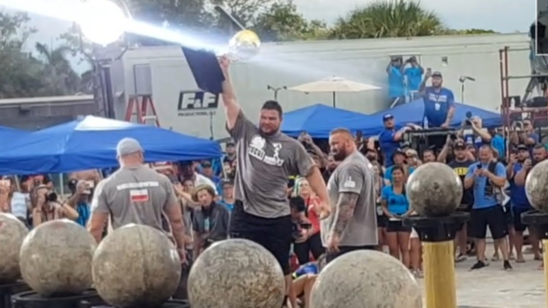 MARTINS LICIS WINS THE ATLASSTONES THE WORLDS STRONGEST MAN 2019