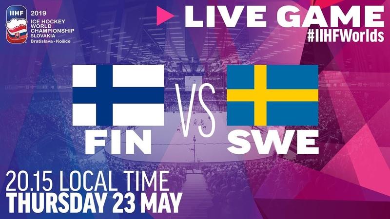 Finland-Sweden | Quarterfinals | Full Game | 2019 IIHF Ice Hockey World Championship