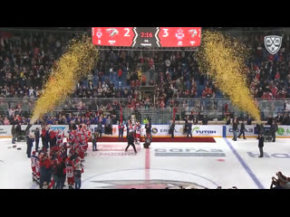Лучшие моменты финала кубка гагарина 2019 цска 4-0 «авангард»