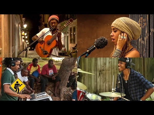 Rasta Children feat. Nattali Rize - Brushy One String   Playing For Change   Song Around The World