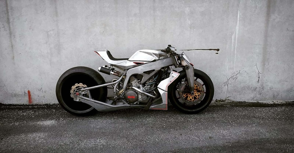 Simone Conti Motorcycles: кастом Aprilia SVX