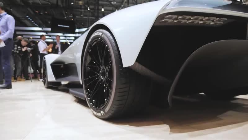 DT Review. Новый гиперкар от Aston Martin. AM-RB 003. Конкурент Mclaren Senna