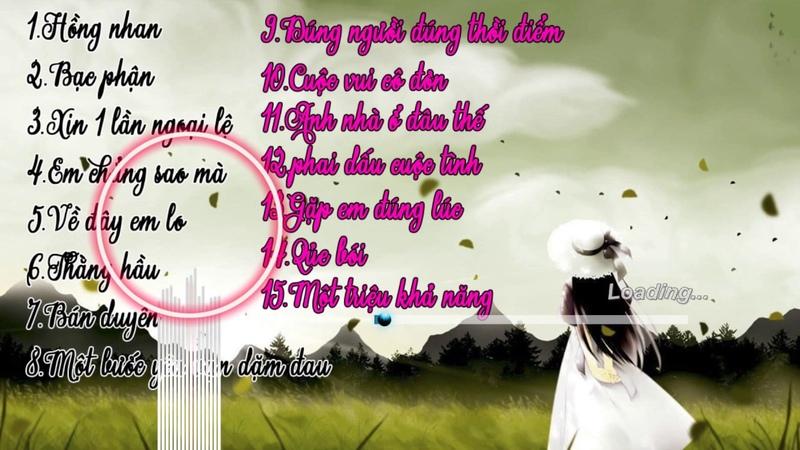 Hồng nhan-Bạc phận EDM LK nhạc trẻ hay nhất t6-2019