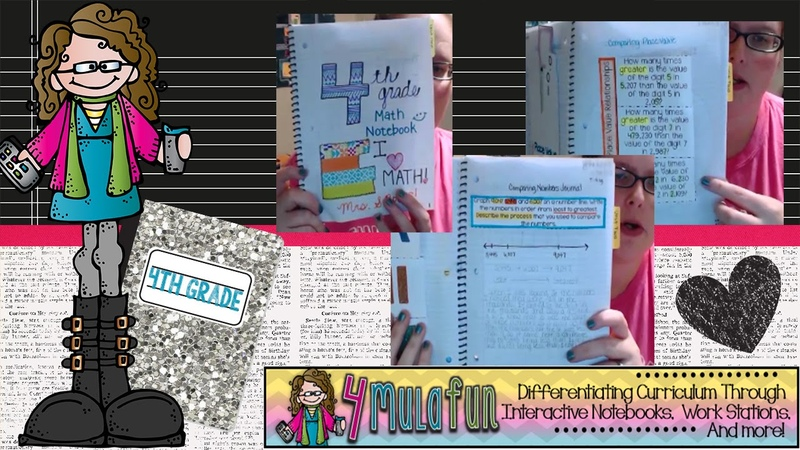 4th Grade Interactive Math Notebook with Smith Curriculum and Consulting