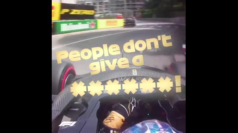 Monaco 2019 Grosjean frustrated by Gasly in Q2