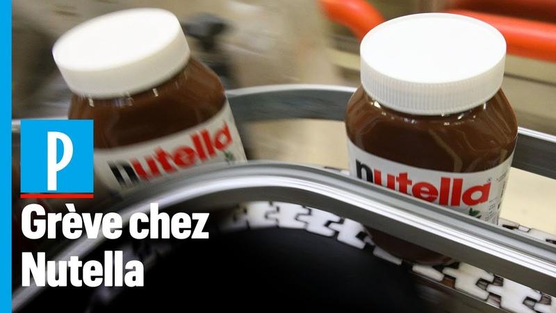 La plus grosse usine de Nutella du monde à l'arrêt