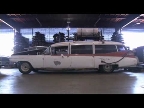 Ghostbusters Blu-ray Ecto-1 Restoration