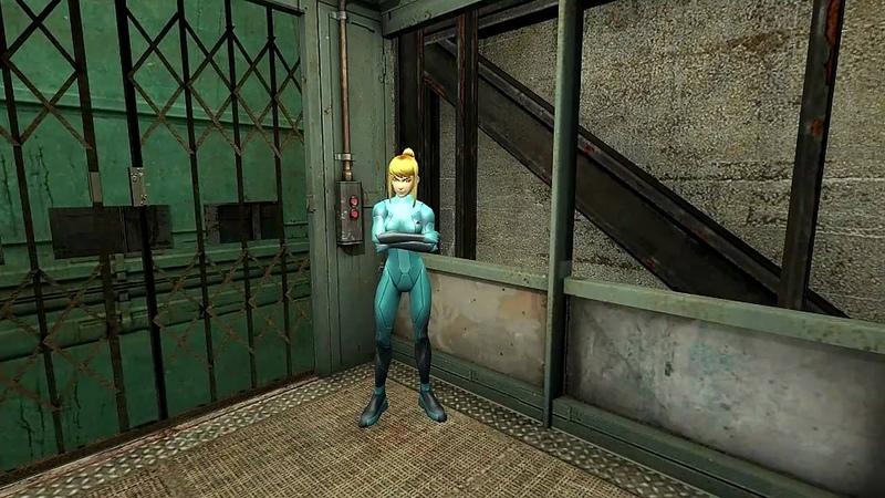 Meet Zero Suit Samus Aran in Half-Life 2 (HL2 Mod) HD