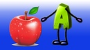 ABCD for Children | A For Apple Song for Kids | Learn phonics for kids