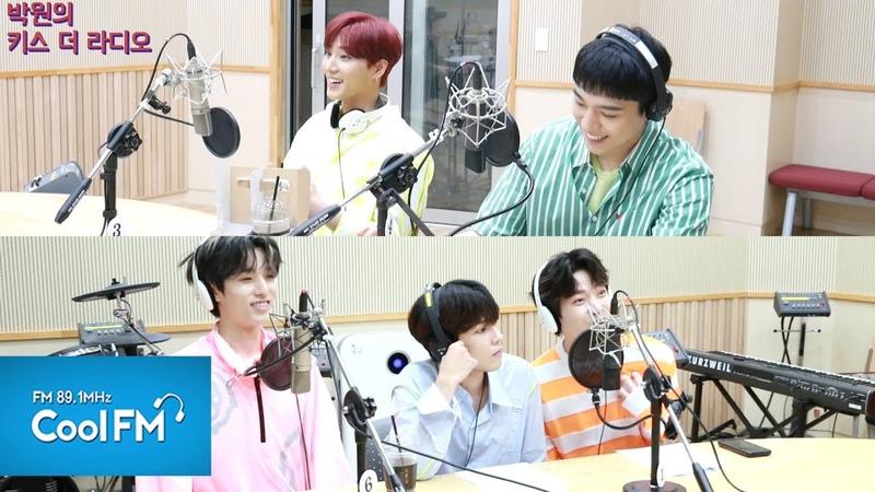 [190719] DAY6 на KBS Cool FM Park Won's Kiss The Radio (full ver.)