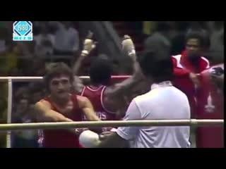 Шамиль Сабиров в финале ОИ1980
