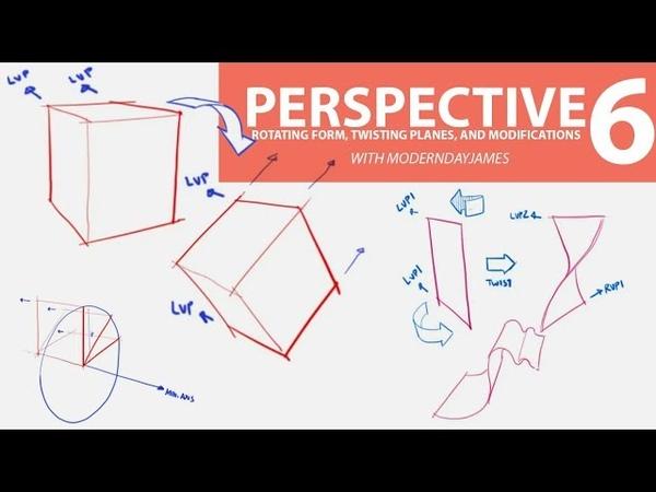 PERSPECTIVE 6: TILTING FORMS, TWISTING PLANES, ORGANICS