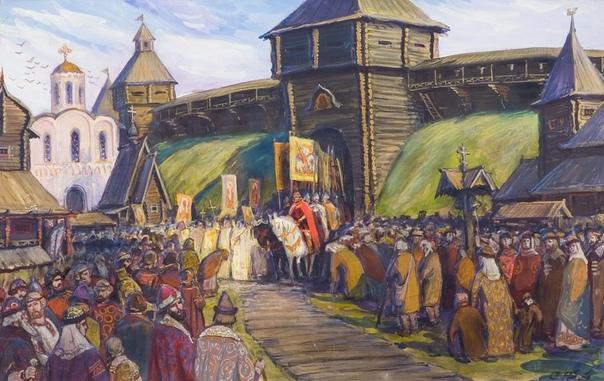 Киевская Русь в 9-12 веках: события, население, правители
