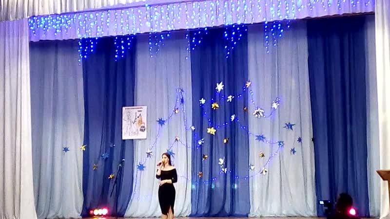 Муниципальный городской конкурс французской песни.Понравилось это выступление.Сулейманова Диана ,ОШ 25.