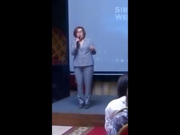Наш Наставник Людмила Балданова