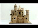 Cómo hacer un castillo de cuento con cartón how to make a cardboard story castle