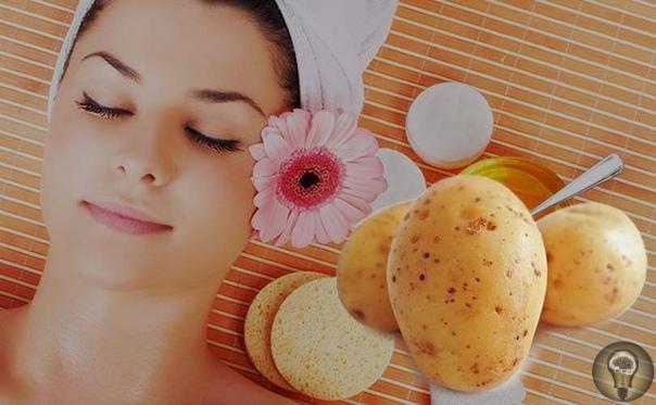 Картофельные маски для красоты и здоровья лица.