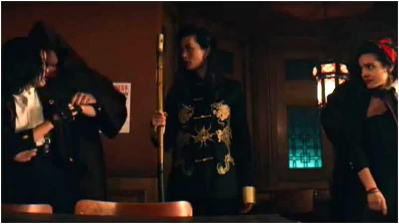 Убийственный класс 1 сезон 8 серия Сайя и Мария 2