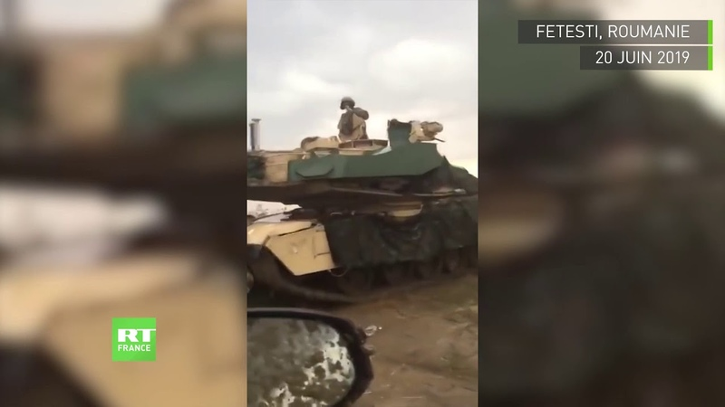 Perdus en Roumanie des chars de l'OTAN semblent avoir perdu le sens de l'orientation