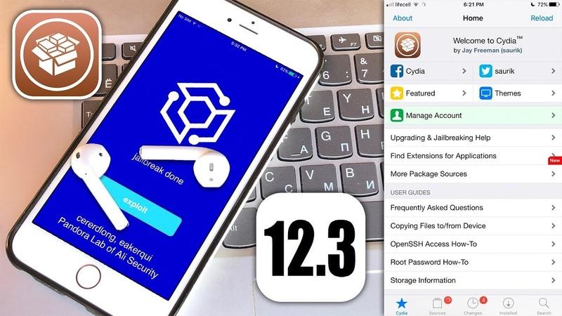 How to Jailbreak iOS 12.3 - 12.1.4 12.2 with Cydia! [Pandora 12 JB]