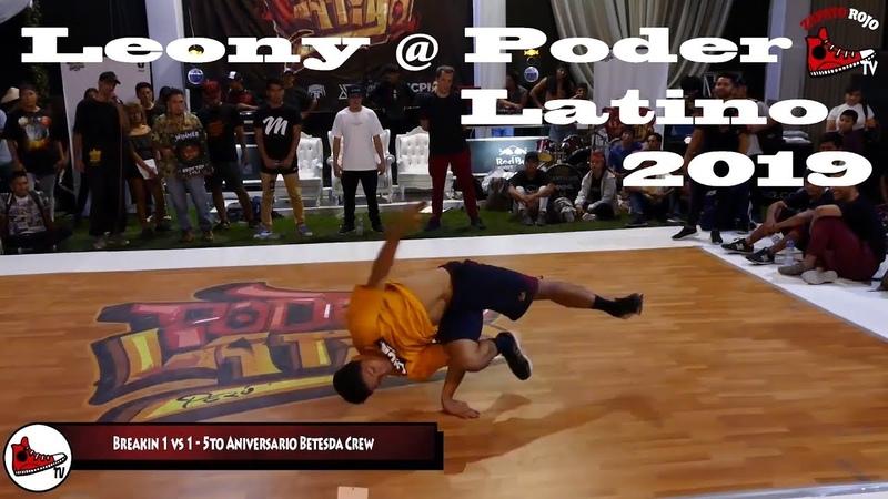 Leony @ Poder Latino 2019