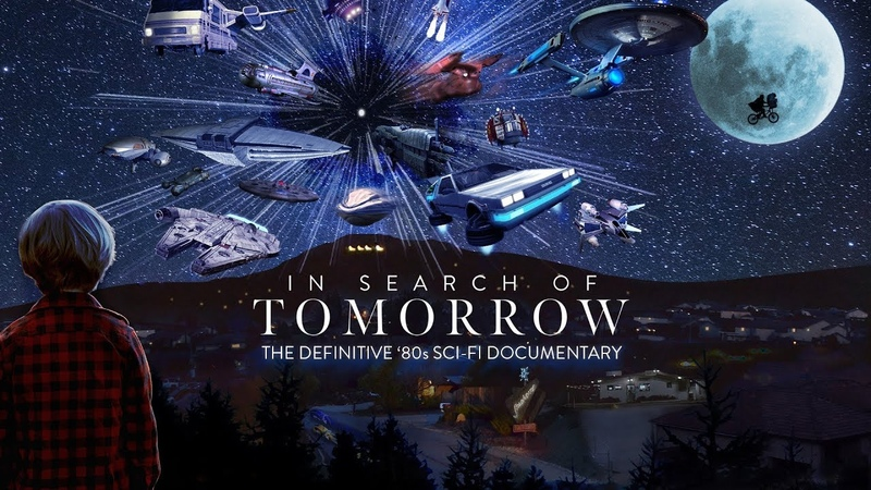 TEASER FOR IN SEARCH OF TOMORROW - '80s SCI-FI MOVIE DOCUMENTARY