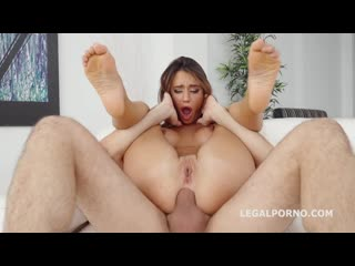 Robin reid anal casting with lana roy balls deep anal, creampie, gapes, cum in mouth porn, порно