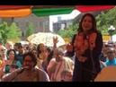 Tulsi Gabbard sings Hare Krishna in NYC