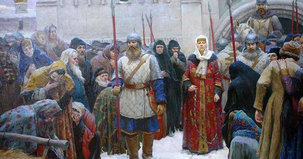 Новгородцы в плену
