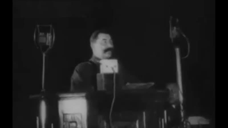 Старая кинохроника Будённый в день своего 50-летия