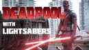 Deadpool with Lightsabers