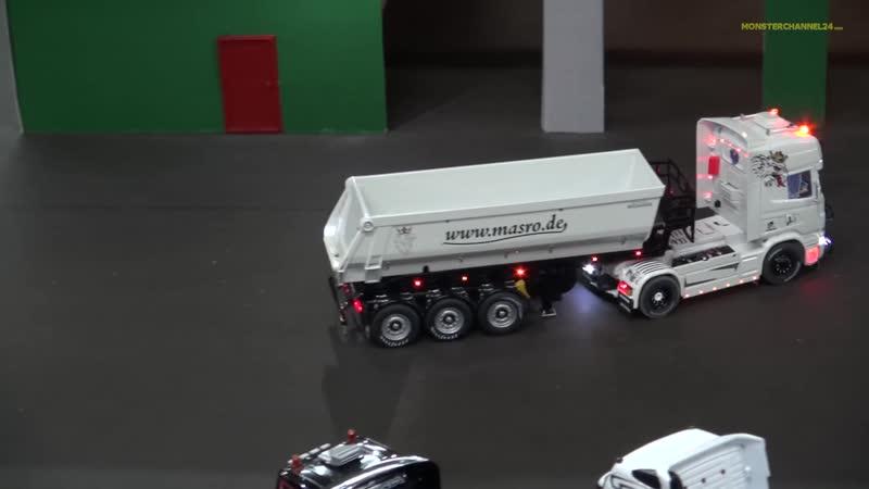Amazing R_⁄C Trucks in Action! Nice detailed RC Siku Trucks in 1 32.