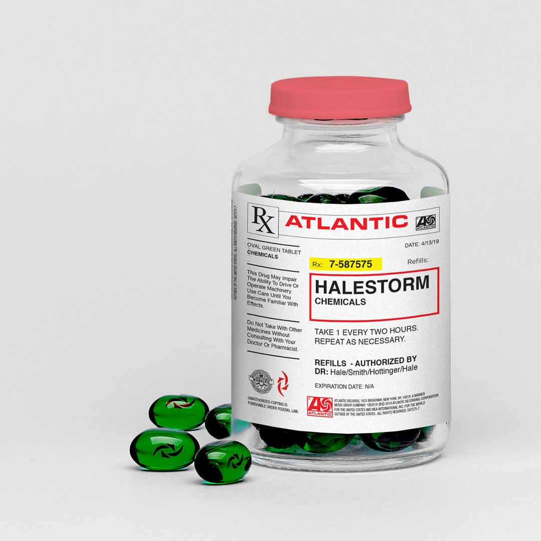 Halestorm - Chemicals (Single)